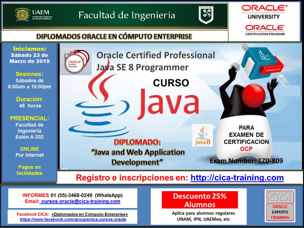 Cica Training Cursos Y Certificaciones Oracle En Cica Ccdmx Y Cica